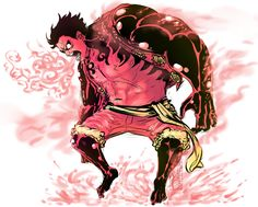 Gear Fourth - Luffy