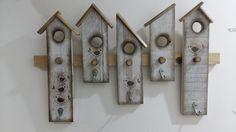 Cabide casas de passarinho