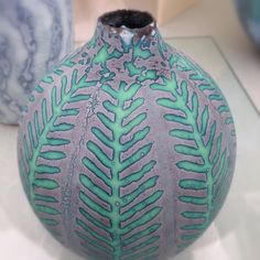 Ceramics by Peter Beard at Art in Clay Hatfield 2014.