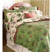Twin Woodland Friends Cotton Quilt Set | Collection Accessories