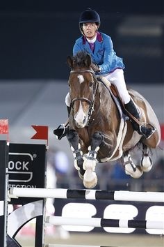 Vienna 2014 Gallery - LONGINES GLOBAL CHAMPIONS TOUR - Luciana Diniz and Lennox