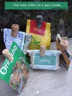 reciclar un corcho