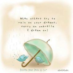 Parapluie always at the ready!!