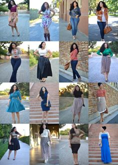 girl with curves blog with everyday outfits! LOVES!