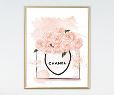 Set of 3 prints Glamour Art Inspired By Chanel bottle Perfume, Girls Room Fashion Set of 3 prints Watercolor Wall Decor, Perfume Bottle. 149 sold by Sunshine Store Finds on Storenvy Chanel Wall Art, Chanel Decor, Wall Frame Set, Frames On Wall, Watercolor Walls, Watercolors, Wall Art Decor, Wall Art Prints, Little Girl Illustrations