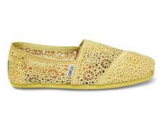 Yellow Crochet Women's Classics | TOMS.ca