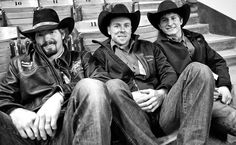 Austin Meier, Dusty LaBeth, and Ryan Dirteater. Cowboy Pictures, Cowboy Pics, Professional Bull Riders, Real Cowboys, Rodeo Life, Bull Riding, Stars Then And Now, Man Vs, World Of Sports