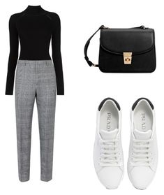 """Без названия #163"" by lady-markizusha on Polyvore featuring мода, Misha Nonoo, Prada и MANGO"