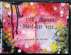 Art journal by Michelle Rondeau