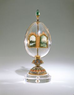 Imperial Easter Egg Fabergé, 1896  The Virginia Museum of Fine Arts