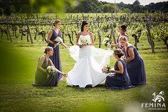Vineyard Wedding wit