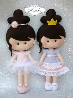 princesitas de fieltro