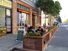 The Parklet Was In The West End Earlier This Week And