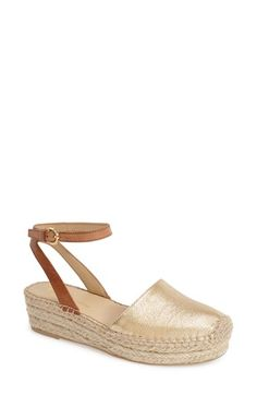 Free shipping and returns on Franco Sarto 'Lariza' Espadrille Platform Sandal (Women) at Nordstrom.com. A jute-wrapped espadrille sole grounds a striking ankle-strap sandal in earthy sophistication.