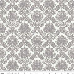 Riley Blake Fabric  1 Yard of Andrea Victoria by ThreeDollsFabrics