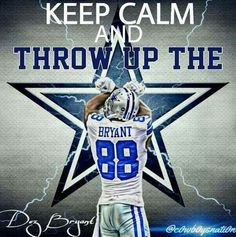 Throw up the X..