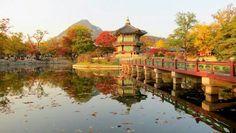 Gyeongbokgung Palace in autumn, Korea