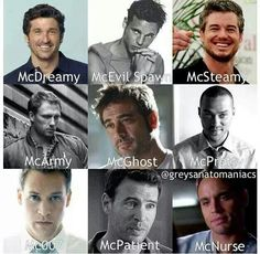 all my mcfavourites!!!