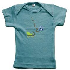 """""""1, 2, 3 Grow"""" Lap T-Shirt"""