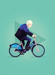 London Mayor, Boris Johnson on Behance