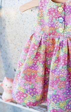 novamelina - CUSTOM ORDERS: www.novamelina.com!  #artgallery #agf #girls #dress #ruffles #imadethis #sewing #crafting #libertyoflondon #libertyartfabrics #garden #wonderland #babies #clothes #baby
