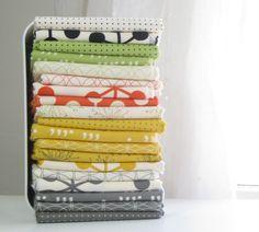 Zen Chic Comma Fat Quarter Fabric Bundle of 20 by LARKcottons, $49.50