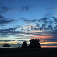 Check out this slideshow Stunning sunsets on Second Beach  in this list 24 Amazing Beaches in the United States