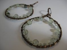 Hippie Hoops by LeahDAmour on Etsy, $20.00
