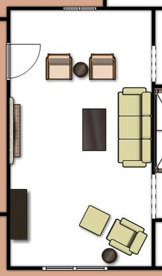 Living Room Floor Plan room arrangements for awkward spaces | spaces, room and living rooms