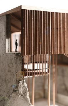 Allen Plasencia: architectural model. SHELTER FACTORY