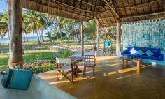 Sull'isola di Mafia, in Tanzania, si trova il Butiama Beach, un piccolo lodge situato lungo la costa sud-ovest, interamente costruito con materiali locali.