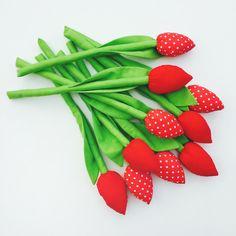 Tulipanki bukiet - Only-inherently - Dzień Matki