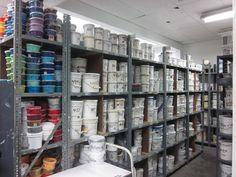 Tagmaster Factory Visit: Screenprinting Ink