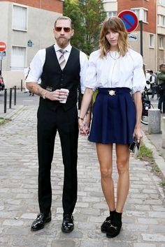 Veronika Heilbrunner #skirt #fashion #summer