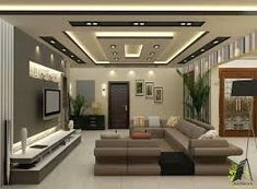 Ceiling Design For Living Room Impressive Living Room Ceiling Designs You Need To See  Tv Wall