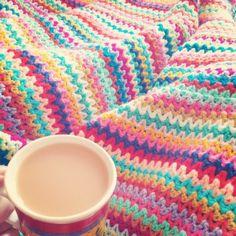 Celebrating the Crochet V Stitch