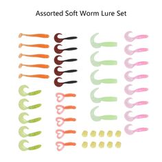 5.11$  Watch more here - http://ai5yk.worlditems.win/all/product.php?id=Y2838-1 - Worm Plastic Fishing Baits Lead Jig Head Hooks Suite Set Soft Lures Tackle Fishing Tackle