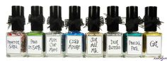 ":: whimsical nailpolish by pam ::  ""eight whimsical nights""  the 2012 holiday collection"