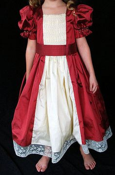 Haylie Christmas dress 2008 | I made this dress for Haylie C… | Flickr