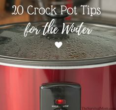 20 Crock Pot Tips for the Winter - Survival Mom Emergency Preparedness Items, Emergency Food Supply, Survival Food, Crock Pot Cooking, Cooking Tips, Food Tips, Crock Pots, Slow Cooker Recipes, Crockpot Recipes