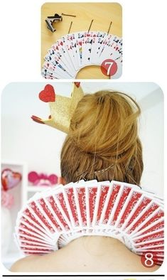 How to make a costume. Diy Queen Of Hearts Costume Collar