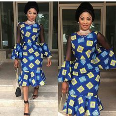 Here are lovely Ankara and Aso Ebi Styles : Beautiful Collection For You that you surely like to rock them to you upcoming ownmbe party.