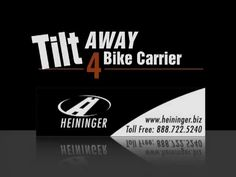 Hold up to four bikes, securely and fully assembled with the TiltAWAY Bike Rack.