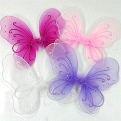 Baby Butterfly Wings with a shabby chic by SherryDSweetCreation, $5.50