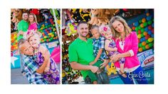 Our family photos at the fair!  Colorful outfits, turned out awesome