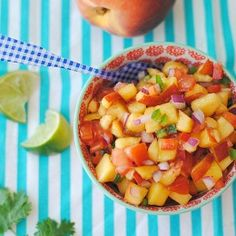 Peach Mango Salsa | Recipe Flux