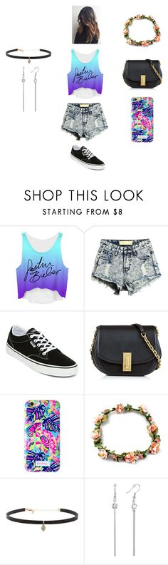 """""""besos de chocolate"""" by dayannellysgar on Polyvore featuring Justin Bieber, Vans, Marc Jacobs, Lilly Pulitzer y Carbon & Hyde"""