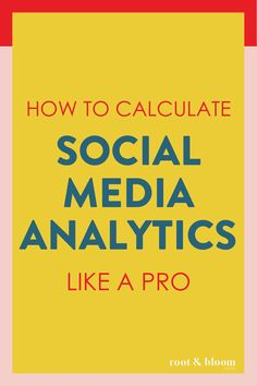 How to Calculate Social Media Analytics Like a PRO Root & Bloom Social - Social Auto Posting - Schedule your social post automatically. - Monthly social media reports and social media analytics terms and definitions. Social Media Report, Social Media Analytics, Social Media Marketing Business, Facebook Marketing, Social Media Tips, Online Marketing, Affiliate Marketing, Social Media Automation, Marketing Automation
