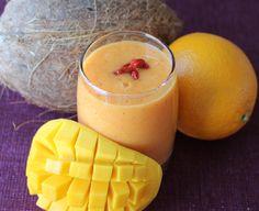 Orange, Mango & Coco Water