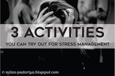 It is quite possible to easily cope with stress if you find the right activities to help you get your mind off the problem that's both... Stress Management Activities, Stress Management Techniques, Management Tips, Natural Stress Relief, Coping With Stress, Milan, Mindfulness, Nature, Blog